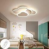 Kinderzimmer Beleuchtung Creative Cloud Deckenleuchte Mit Fernbedienung Dimmbare 6 cm Ultradünne...