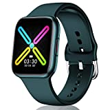 CatShin Smart Watch 1,54'Voll-Touchscreen Herren Damen Fitness Tracker Smartwatch IP68 Wasserdichtes...