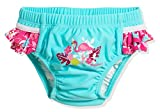 Playshoes Baby-Mädchen UV-Schutz Windelhose Flamingo Schwimmwindel, Türkis (Türkis 15), 86...