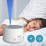 snuutje Einschlafhilfe für Kinder und Erwachsene (Licht-Metronom, Naturklänge oder weißes...