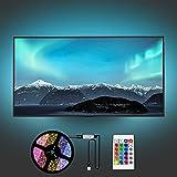Yifacoom Led TV Hintergrundbeleuchtung, LED Streifen, 4M LED Strip für 60 bis 75 Zoll HDTV,...