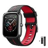 Smartwatch Herren Damen GPS Fitness Armband Sportuhr Bluetooth 1.3'' Voll Touchscreen 5ATM...