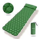 Deeplee Camping Isomatte,Einzelne Schlafmatte Ultraleichte Isomatte für Outdoor,Feuchtigkeitsfes...