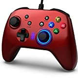 BIMONK Game Controller Wired, Gamepad mit Dual Vibration PC Gaming Controller für PS3, Switch,...
