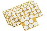 Metafranc Filz-Gleiter-Sortiment 104-teilig - selbstklebend - wei - Effektiver Schutz Ihrer Mbel &...