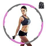 Tinzzi Hula Hoop Reifen, Hula Hoop Fitness Reifen zur Gewichtsreduktion, Hula Hoop für Erwachsene &...