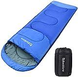 BACKTURE Schlafsack, Deckenschlafsack 1.0 kg Leichtgewicht Warm Outdoor 100% Baumwollhohlfaser für...