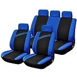 Universal-Schutz-Auto-Sitzabdeckung mit 3mm Breath Schwamm nach innen für Autos - Anzüge Athleten,...