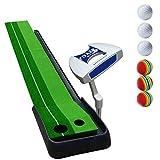 DNSJB Putting Golf Matten-Golf-Matten-Golf-Putter Putter Pad Gymnastikmatte Office Home Tragbare 300...