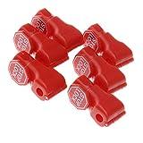 100x Magnetische Sicherheitshaken Stop Lock Anti-Diebstahlsicherung 6mm Rot