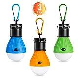 Winzwon Campinglampe, LED Camping Laterne, Tragbare Zeltlampe Laterne Glühbirne Set-Notlicht COB150...