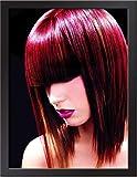 oioiu Barber Shop New Frisur Design Beauty Salon Bild Wanddekoration Malerei Friseursalon Kunst Mode...