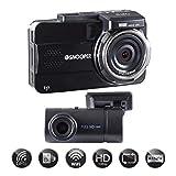 Snooper DVR-5HD G3 Full HD 2 Kanal Dash Kamera mit eingebautem Geschwindigkeitswarner und WiFi
