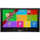 Elebest Pro A900 Navigationsgerät 22,8cm 9 Zoll Display, Android 6.0, WiFi, Radarwarner,Tablet PC,...