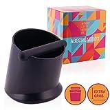 NOUTEN® Premium Abschlagbehälter mit geräuschdämpfender Abklopfstange – Abschlagbox zur...