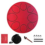 yummyfood Pan Drum Steel Tongue Drum Zungentrommel 8 Note Percussion Für Musikunterricht,...