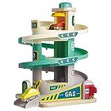 TOP BRIGHT Auto Parkhaus Spielzeug Kinder, Auto Parkgarage mit 3 Ebene und Aufzug, Garage Spielzeug...