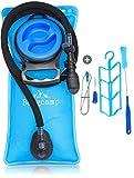 Bergcamp Trinkblase + Reinigungsset - wasserdichte Blase für den Rucksack zum Wandern, Campen oder...