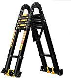 HYRGLIZI Teleskopleiter Teleskopleitern, Klappleiter Aluminiumlegierung Technische Leiter Hebetreppe...