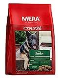 MERA essential Hundefutter  Senior  Für ältere Hunde - Geflügel Trockenfutter mit Chondroitin &...