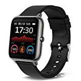 Smartwatch, 1.4 Zoll Touch-Farbdisplay Smart Watch mit Pulsmesser Schlafmonitor, Fitness Tracker mit...