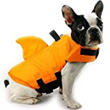 Unbekannt Schwimmweste für Hunde, verstellbar, mit Rettungsgriff, XL, Orange