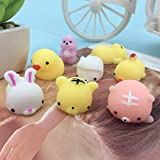Dorime Mini-Spielzeug Netter Anti-Stress-Ball Squeeze Mochi Rising Toy Abreact weiche Sticky Squishi...