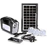cyg Solar Home System, Multifunktion Solar Beleuchtung System 30W USB-Handy Aufladen...