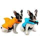 Schwimmwesten für Hunde,Pet Floatation Schwimmweste Dog Lifesaver Preserver Badeanzug mit...