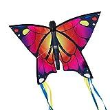 CIM Leichtwind Schmetterling Drachen - Butterfly PINK - Einleiner Flugdrachen für Kinder ab 3...