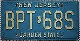USA_Auswahl_von_Fahrzeugschildern USA Nummernschild New Jersey - US Kennzeichen License Plate -...