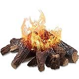 Keramikfaser-Holz, kleine Größe, Gas-Kaminscheite für die meisten Arten von Innenräumen,...