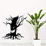 hetingyue wasserdichte Ghost Tree Wandaufkleber Dekoration Dekoration Wandkunst Wohnzimmer...