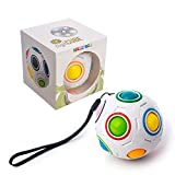 digitCUBE – Magic Ball Puzzle - Regenbogenball Spielzeug - Geschicklichkeitsspiel mit 12 Kugeln...