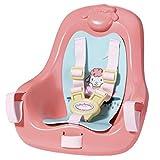 Baby Annabell 703335 Aktiv-Fahrradsitz für 43cm Puppe - florales Design - Leicht für kleine...