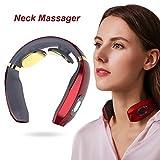 Nackenmassagegerät,Intelligentes Nackenmassagegerät, Elektrisches Puls-Nackenmassagegerät,...