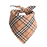Zonfer Pet Bandanas Triangle Lätzchen Verstellbare Kragen Schal Kopftuch für...