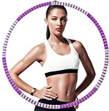 Lanboo Hula Hoop Reifen für Erwachsene, 8 Teiliger, Abnehmbarer Hoola Hoop Reifen von 0,85kg für...