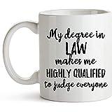 Mein Abschluss in Law Lawyer Mug, Lawyer Cup für Frauen und Männer, Abschluss der juristischen...