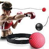 GothicBride Boxing Reflex Ball Set– Punchingball und Reaktionsball für Ihr Boxtraining –...