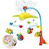 earlyad Musikalisches Baby-Krippen-bewegliches Spielzeug, Säuglingsbettglocken-Rassel-Spielzeug mit...