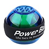 WLH LED-Übung Hand Handgelenk Gyroskop Power Balls Für Golf Tennis Force Strength (blau)