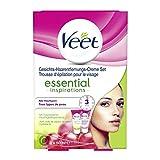 Veet Gesicht Haarentfernungs-Creme Set für sensible Haut mit Aloe Vera und Vitamin E, 2er Pack (2 x...