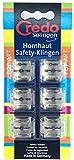 CREDO Klingen Hornhaut-Safetyhobel, 6 Stück im Blister