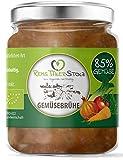 Bio Gemüsebrühe Naturbelassen - kein Pulver. Auf Zucker, Geschmacksverstärker, Hefe, Glutamat,...