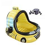 KHMQB Kinder Aufblasbare Schwimmring Sommer Lenkrad Sonnenschirm Auto Modell Wasser Spielzeug...