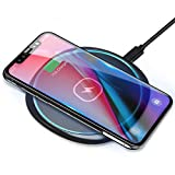ELEGIANT Fast Wireless Charger 10W Kabellos Ladegerät Ladepad Schnellladestation für Samsung...
