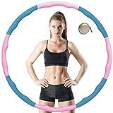 VANBAR Hula Hoop Reifen für Kinder Erwachsene, Zusammenklappbare & Einstellbare Fitness Ubung Hula...