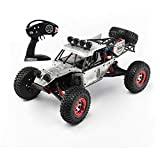 MXXQQ Fernbedienung Auto, 40Km / H High Speed ​​RC Off-Road Monster Truck, 01.12 RC Buggy Wüste...