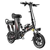 BAIYIQW Elektrisches Fahrrad E-Bike Elektrofahrrad Faltbare/Auto-Lithium-Batterie/DREI Arten...